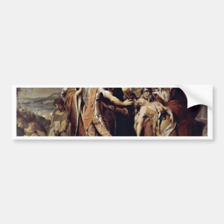 King Lear Mourns Cordelia  By Barry James Bumper Sticker