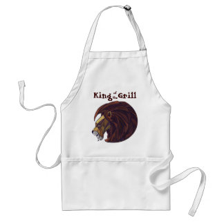 King Lion King of the Grill Apron