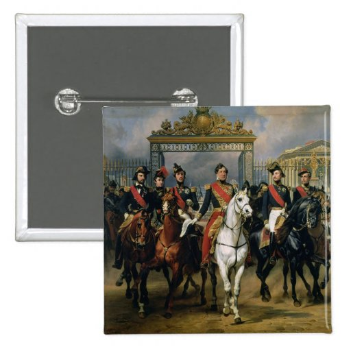 King Louis-Philippe (1773-1850) of France and his Button