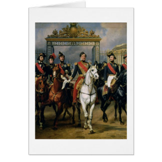 King Louis-Philippe (1773-1850) of France and his Card