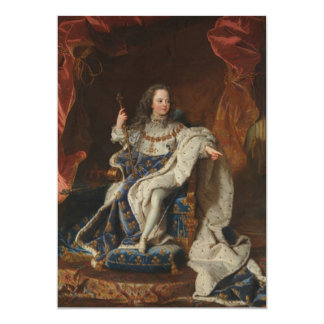 King Louis XV as a Child by Hyacinthe Rigaud Announcement