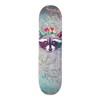 King Mapache ·#Tabla of skate 21.3 Cm Mini Skateboard Deck