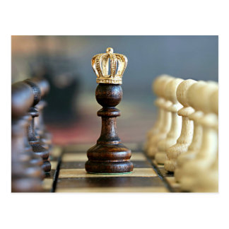King Me--game of chess Postcard
