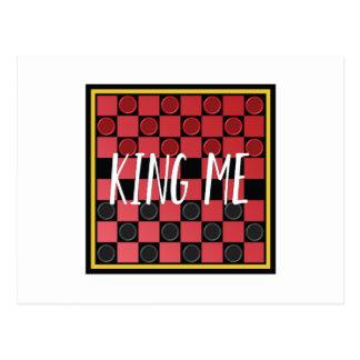 King Me Postcard