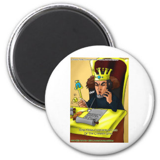 King Midas Catches Common Gold Funny Gifts Tees Magnet