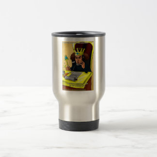 King Midas Catches Common Gold Funny Gifts Tees Stainless Steel Travel Mug
