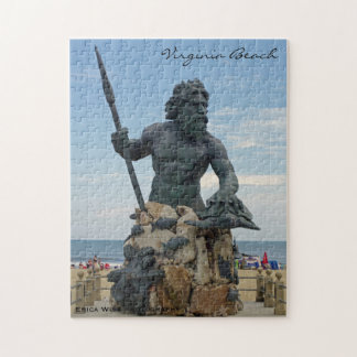 King Neptune in Virginia Beach Puzzles