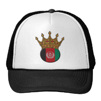 King Of Afghanistan Mesh Hats