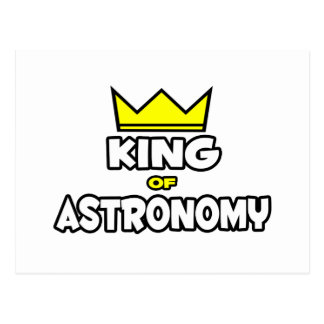 King of Astronomy Post Card