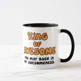 King of Awesome Mug