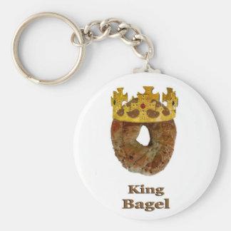 King of Bagels Key Ring