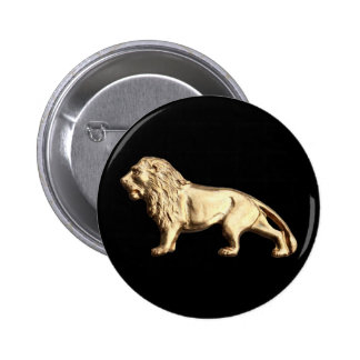 King of Beasts 6 Cm Round Badge