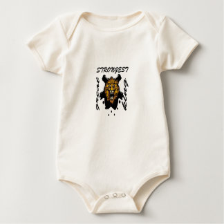 King Of Beasts Baby Bodysuit