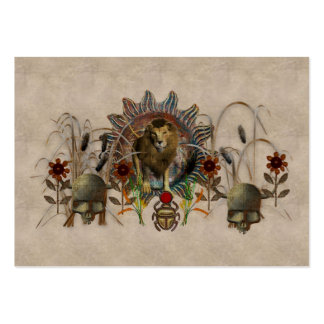 King Of Beasts Large Business Cards (Pack Of 100)