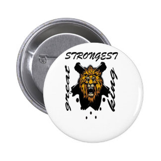 King Of Beasts Button