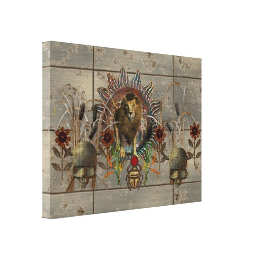 King Of Beasts Gallery Wrap Canvas