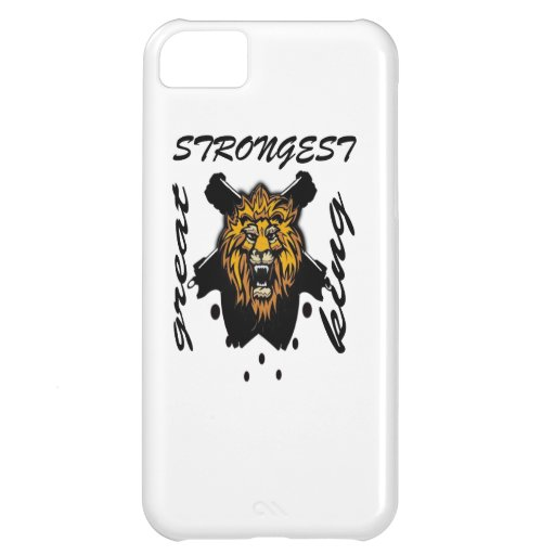 King Of Beasts iPhone 5C Cover