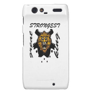 King Of Beasts Droid RAZR Case
