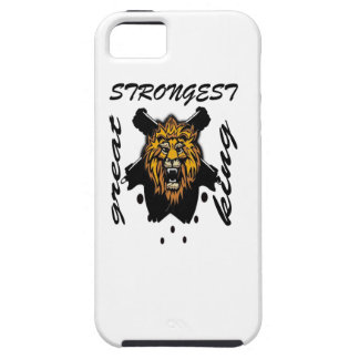 King Of Beasts iPhone 5 Cover