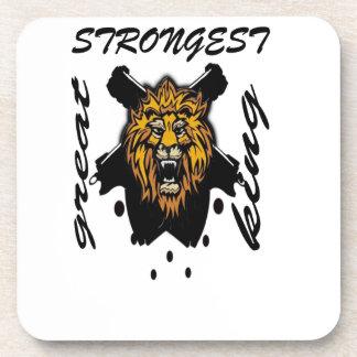 King Of Beasts Drink Coasters