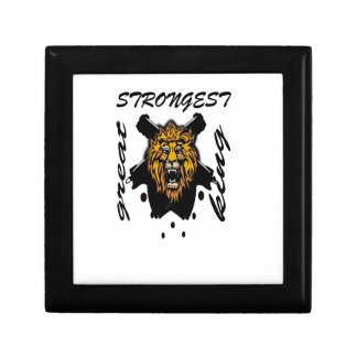 King Of Beasts Jewelry Box