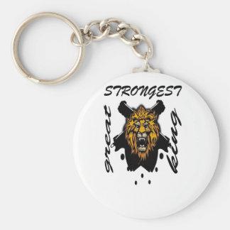 King Of Beasts Key Chain
