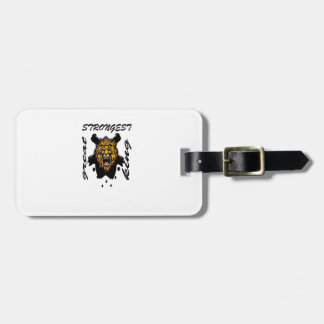 King Of Beasts Tag For Luggage