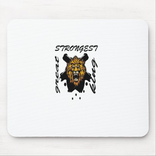 King Of Beasts Mouse Pads