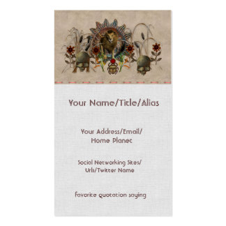 King Of Beasts Pack Of Standard Business Cards