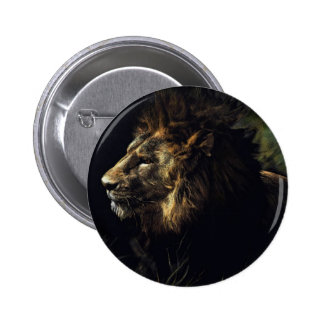 King of Beasts Pinback Buttons