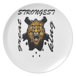King Of Beasts Dinner Plate