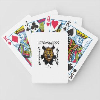 King Of Beasts Poker Deck