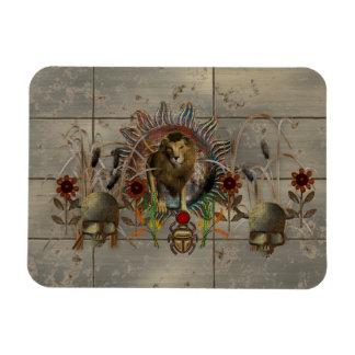 King Of Beasts Rectangular Magnet