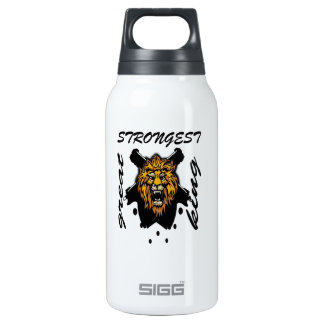 King Of Beasts 10 Oz Insulated SIGG Thermos Water Bottle