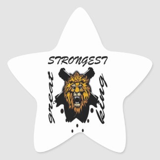 King Of Beasts Star Stickers