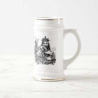 King of Beer Engraved Stein