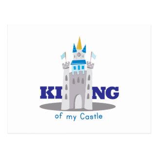 King Of Castle Postcard