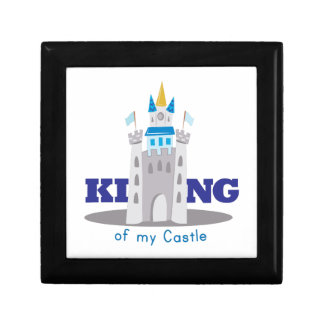King Of Castle Small Square Gift Box