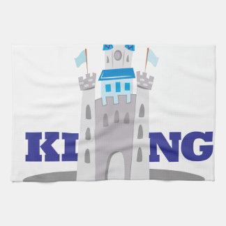 King Of Castle Tea Towel
