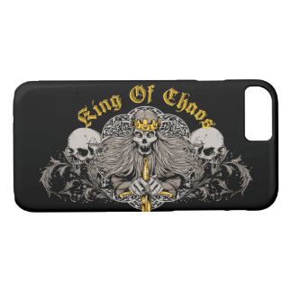 King of Chaos Glossy Phone Case