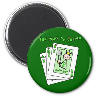 King of Chemo 6 Cm Round Magnet