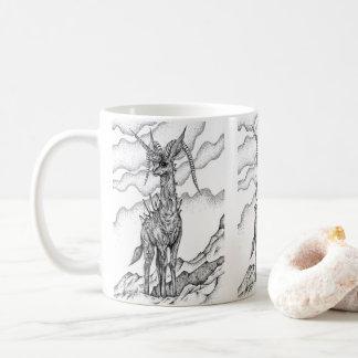 King of cliffs coffee mug