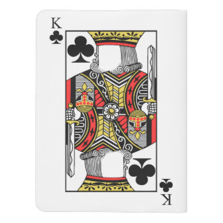 King of Clubs - Add Your Image Extra Large Moleskine Notebook