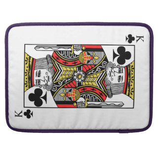 King of Clubs Sleeve For MacBook Pro