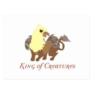 King Of Creatures Postcards
