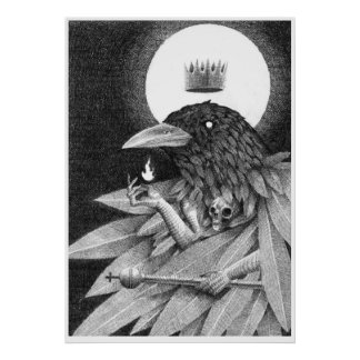 King Of Crows Poster