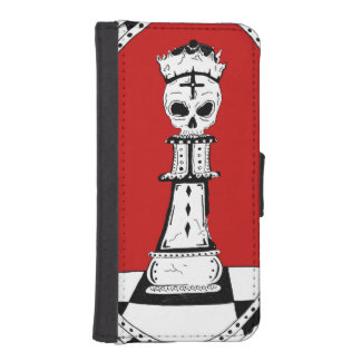 King of Diamonds iPhone 5/5s Leather Case/Wallet iPhone SE/5/5s Wallet Case