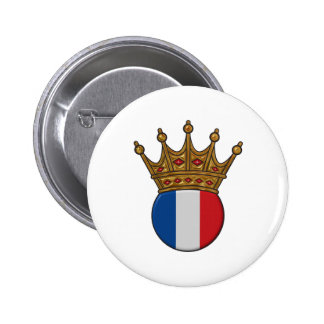 King Of France Button