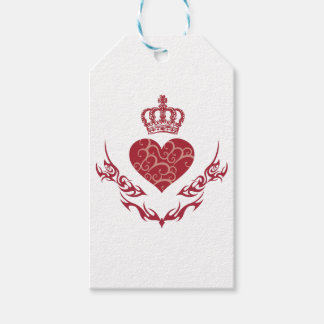 King of heart gift tags