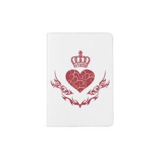 King of heart passport holder